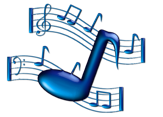 MusicNotes-Blue